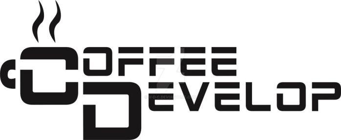 Logo para Coffee Develop. by V-D-C