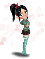 Vanellope at 17 by artistsncoffeeshops