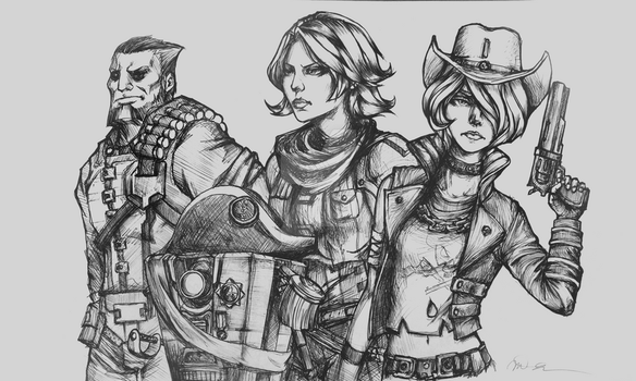 Vault Hunters by arseniic