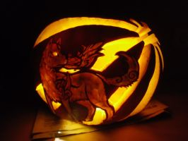 okami pumpkin by dangodei