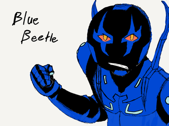 BLUE BEETLE by MUTANTS-FOREVER