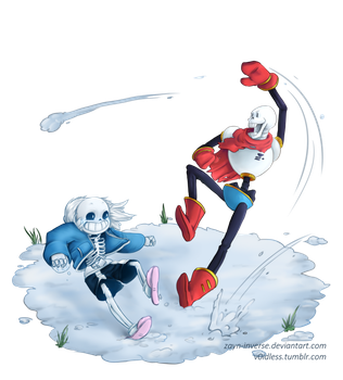 Get snow'd on! by v0idless