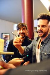 Blake Ritson and Tom Riley #1 by HinaichigoCherry