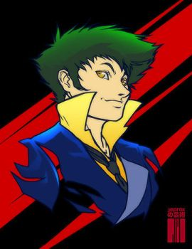 Spike Spiegel by artofJEPROX