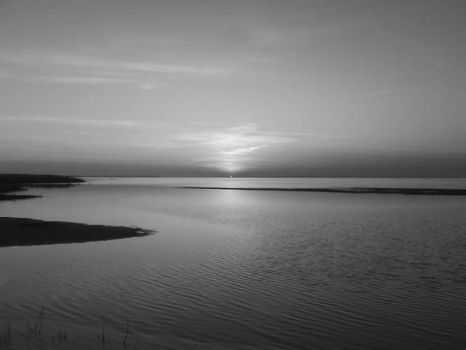 Sun in black and white by Nunnukaz