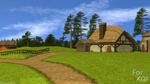 Romani Ranch (3DS) for XNALara by AJD-262