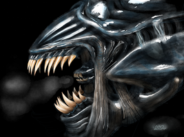 Xenomorph by digitalchet