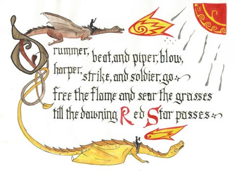 Till the dawning Red Star passes - scanned by sipho56