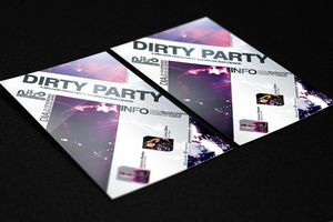 Flyer Dirty Party - Download FREE by MarcosRenatoDesign