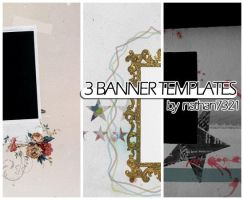 THREE header templates by nathan7321