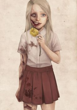Zombie Girl by LEEDOY