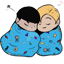 Sleep Bundle - Spirk by Cammerel