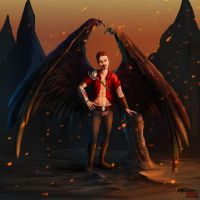 Lucifer - Lord of Hell by kovah