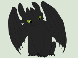 HTTYD Base 145~Nightfury 76~ by Xbox-DS-Gameboy