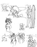 Roxie Development Sketches by the-gneech