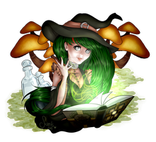 Contest entry - Opal The Witch by Sweetillita