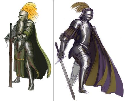 Knights by L3monJuic3