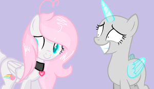 .:COLLAB:. do you like my new hairstyle? by Kawaii-Moonlight