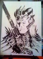 Elric from Lucca comicon 2013 by francesco-biagini