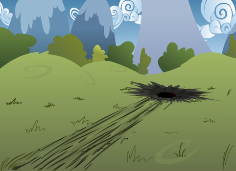 Ponyville Field by WetPaintProductions