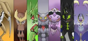 Top Seven Non-mentioned Pokemons by KunYKA