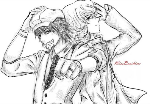 Tiger and Bunny by MissBenihime