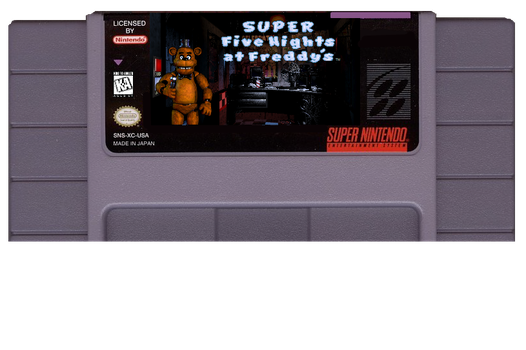 Super FNaF Cartridge Edit! by ladyevel