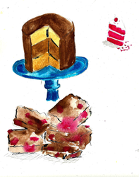 Cake Illustrations by Livvi1987