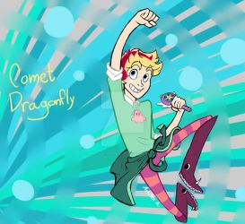 Comet Dragonfly by AnnoyingAndrea01