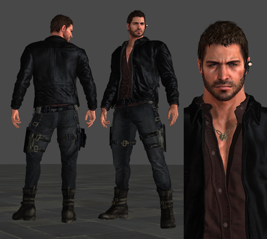 W.I.P - Resident Evil Vendetta Chris Mesh-Mod by FearEffectInferno