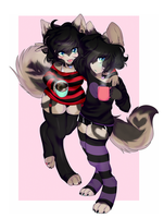 coffee puppies by yeagar