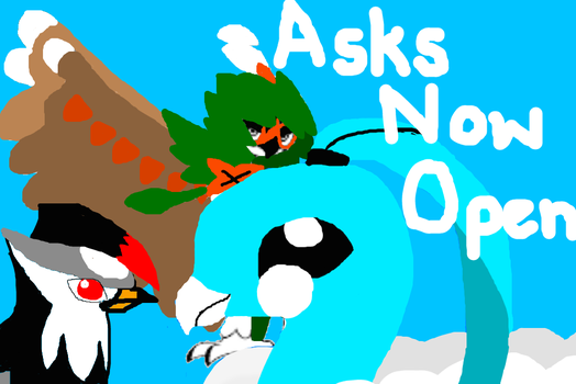 Pokemon OC Asks: Asks Now Open! by Blizzard-and-Friends