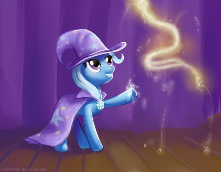 The Great And Powerful Trixie by HelixWonder