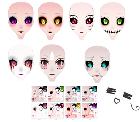 [ MMD ] TDA Face Texture DL by 2p-Italy-Veneziano