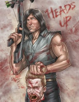 Daryl - The Walking Dead by kpetchock