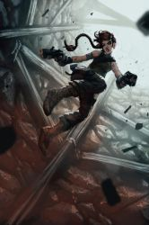 Tomb Raider speedpaint by Mechanubis