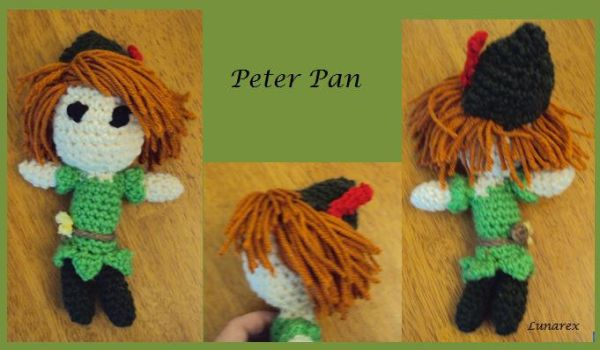 Peter Pan by lunarex15