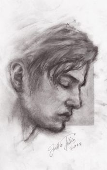 realistic portrait study III by Kissingwithjohn