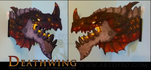 Deathwing by StrayaObscura