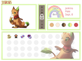 Jenkins mini reference by DancingInBlue