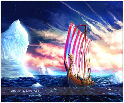 Vikings: beyound the edge of the World... by Tatiax