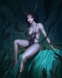 Queen of the Abyss by mcgmark