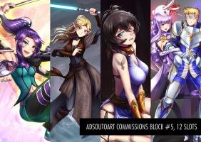Commisions Block #5 by ADSouto
