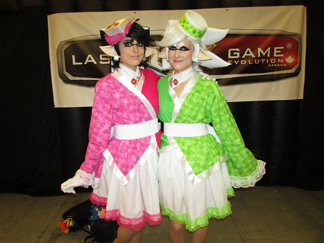 Callie and Marie - Montreal Comic Con 2017 by J25TheArcKing