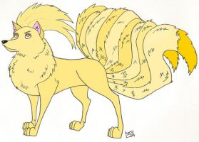 Ninetails by Folly854