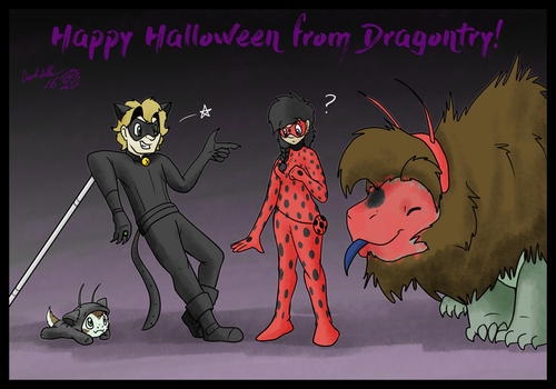 Miraculous Dragontry by DragonwolfRooke
