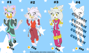 Silvaze (Silver x Blaze) Child Adopts - CLOSED by AnimalCreation