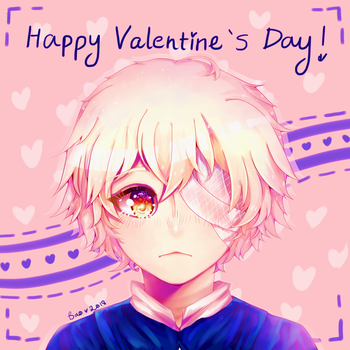 Happy Valentine's Day 2018 from Oliver by Kalidreamine
