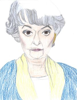 Bea Arthur by englishdisco