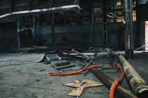 939, old AMCOR papermill. by thespook